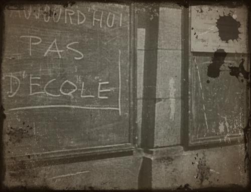 pas d'ecoles en juin 1940
