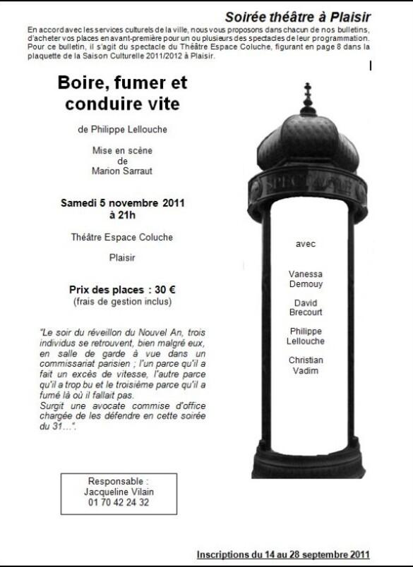 152 soiree theatre page 27 Coluche