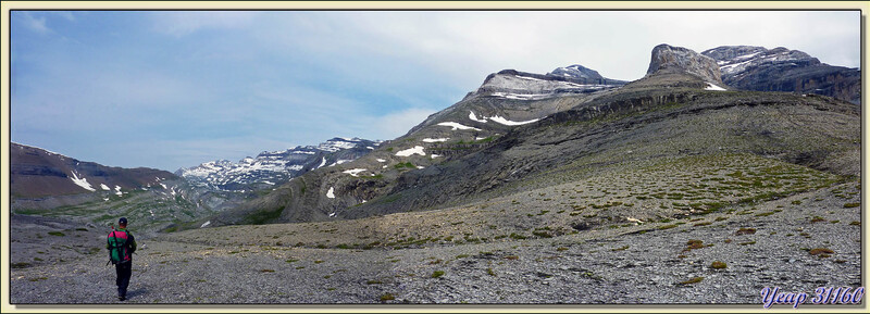 Col de Goriz (Collado de Gòriz) - Massif du Mont Perdu (Monte Perdido) - Aragòn - Espagne (España)