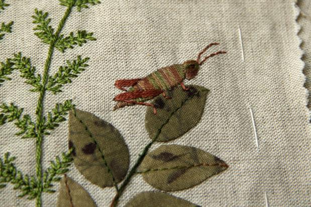 Carnet textile - Récolte 2