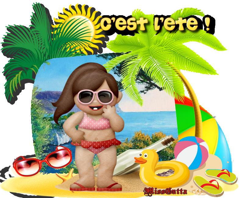 Défi pour amie Nathie c'est l'été !
