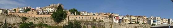 Kavalapanorama sur les remparts et l'ancien imaret