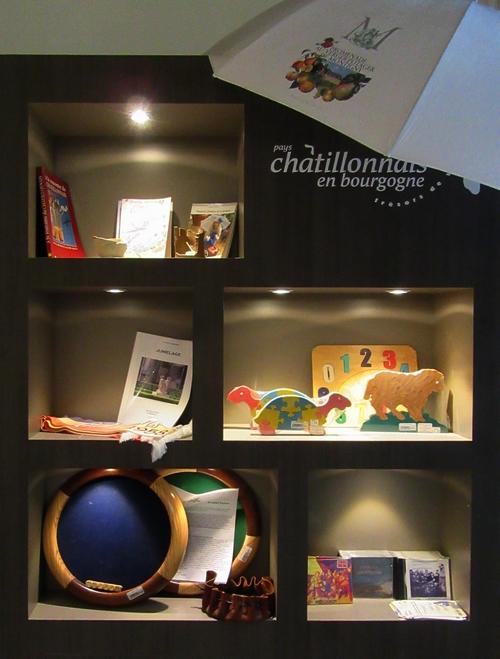 L'Office du Tourisme du Pays Châtillonnais, un bel endroit pour acheter des cadeaux de fin d'année !