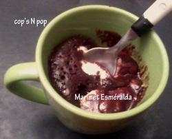 Mug cake aux oursons guimauve