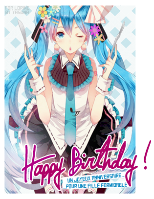 Happy Birthday ~Aragon~ !