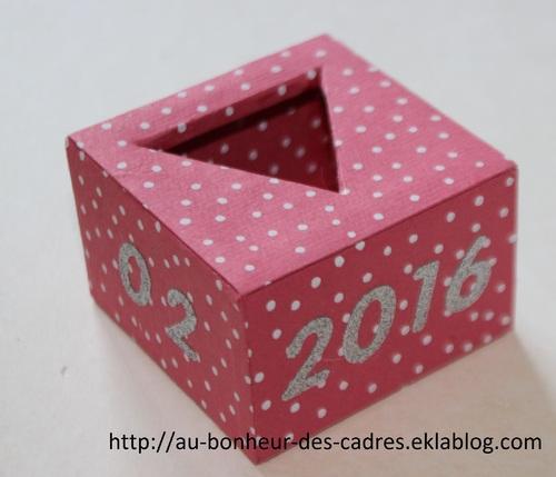 Cartonnage : un amour de cube