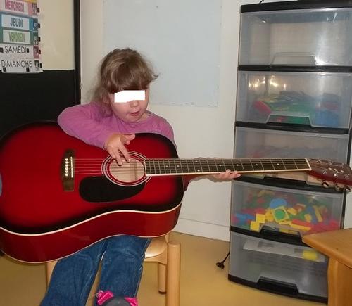 Instrument à cordes : la guitare