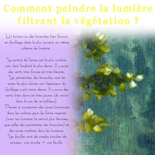 Dessin et peinture - vidéo 3592 : Comment rendre l'intensité de la lumière dans une peinture de paysage ? - huile ou acrylique. ,