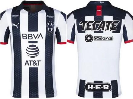 maillot Rayados de Monterrey 2019-2020