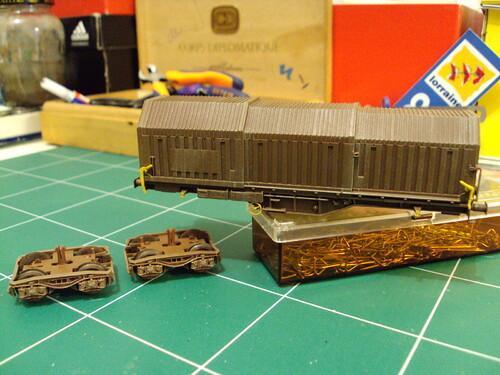 Le wagon Shimms de roco