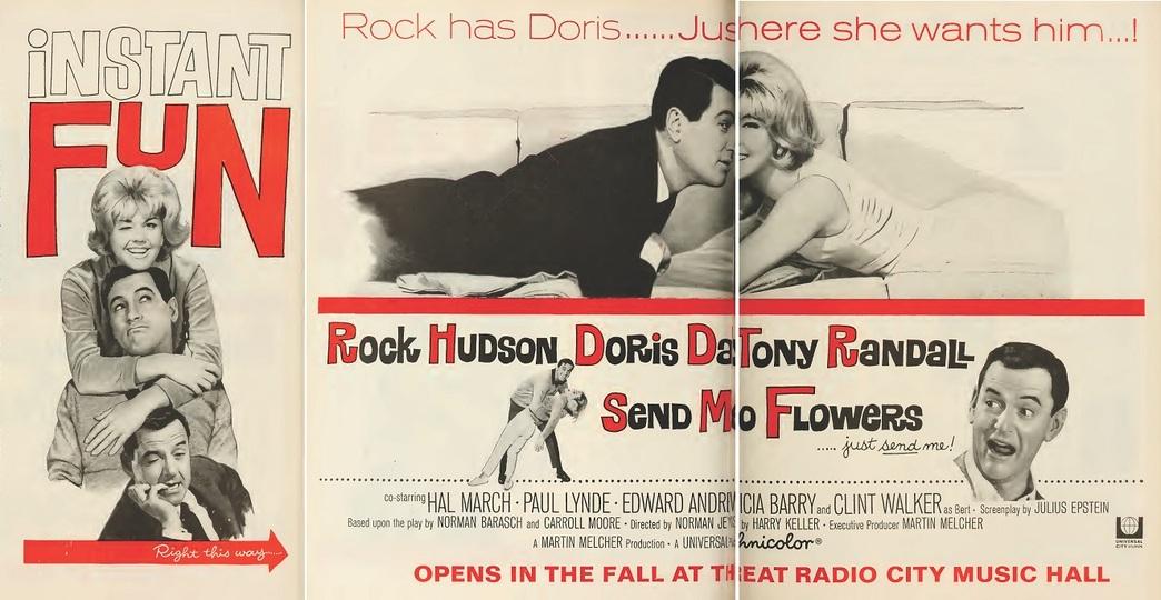 SEND ME NO FLOWERS BOX OFFICE USA 1964