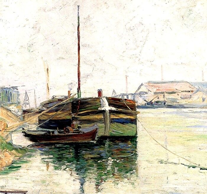 1.Signac / Monet , l'inspirateur .