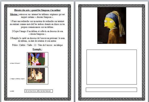 Hda:les Simpson s'en mêlent