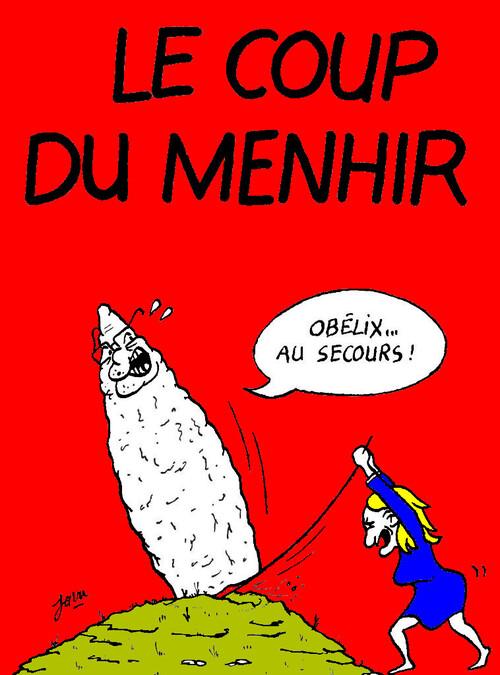 Le Pen en cher et en or