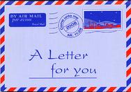 Une lettre pour toi