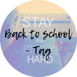 Back to school - Tag