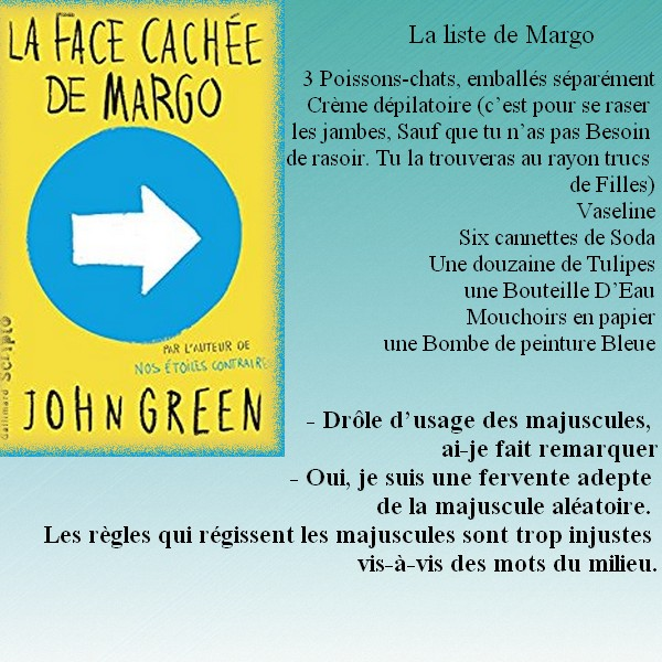 Citation La Face Cachée De Margo De John Green Blog