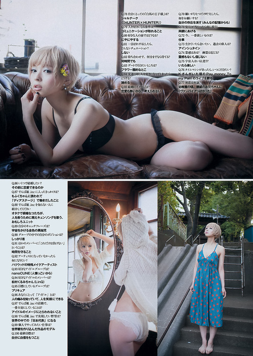 Moga in Weekly Playboy.