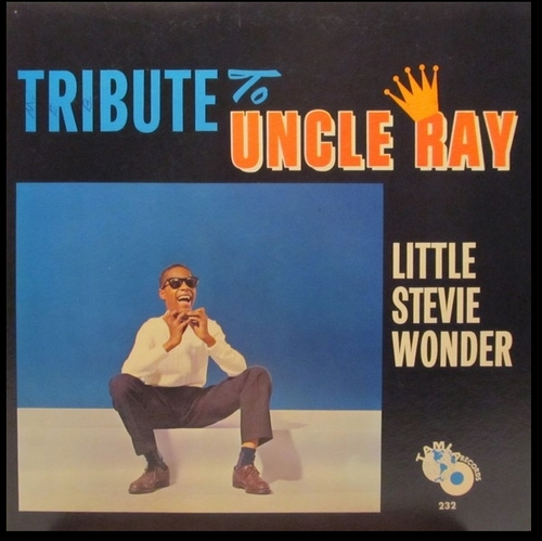 "Little Stevie Wonder : Album "" Tribute To Uncle Ray "" Tamla Records TM 232 [ US ]"