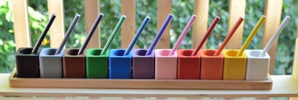 DIY Tuto - Les pots à crayons Montessori