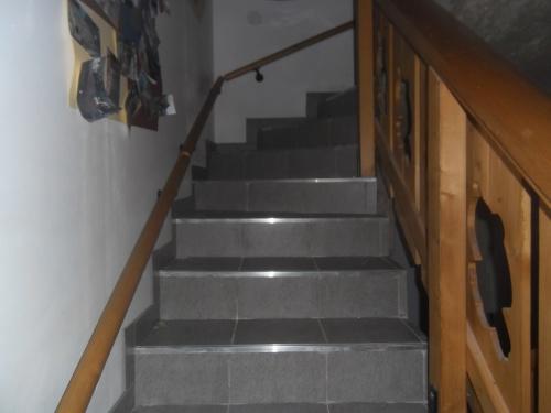 Carrelage de l'escalier (aout 2012)
