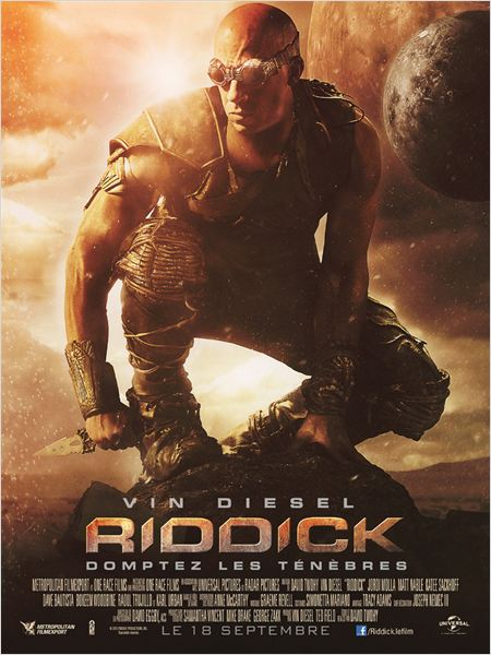 Riddick (2013) [BDRIP TRUEFRENCH] [⊗ -12 ans] - Extended Version