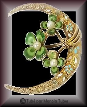 Tube bijoux St Patrick 2977