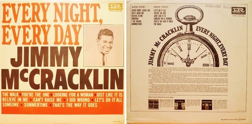 JIMMY MCCRACKLIN - EVERY NIGHT, EVERY DAY
