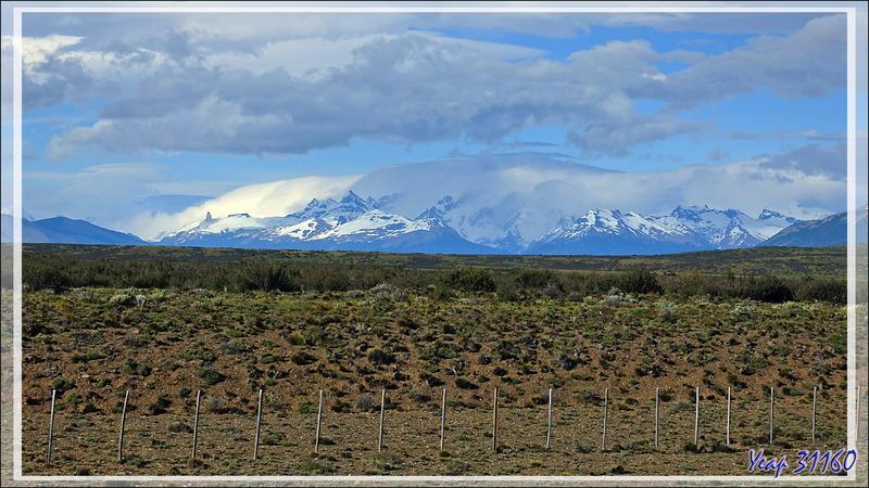Départ pour notre dernière journée en Patagonie : la découverte du Glacier Perito Moreno - Argentine