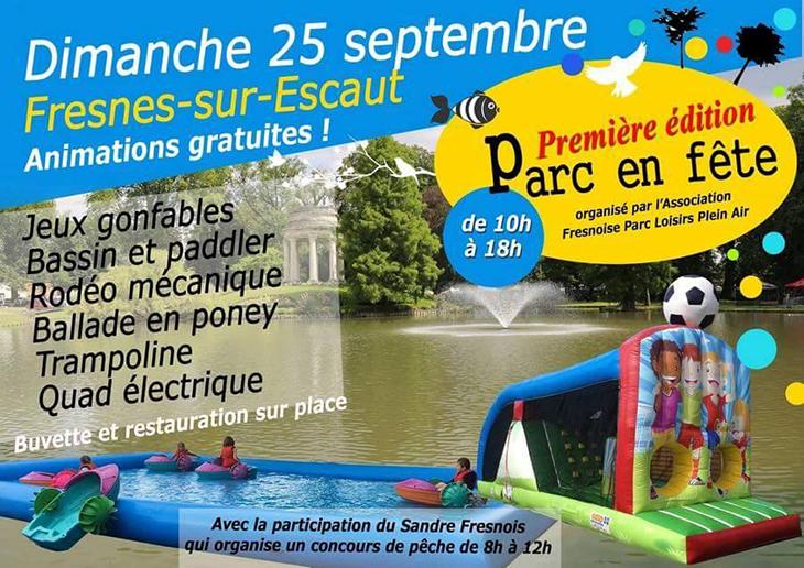 Parc en fête, à Fresnes-sur-Escaut