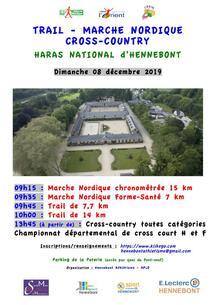 Trail Haras National d'Hennebont  - Dimanche 8 décembre 2019