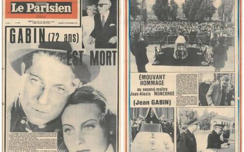 Le  17 mai 190  naissait Jean Gabin