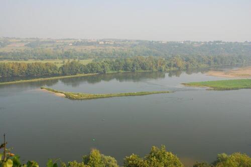 Balcon de la Loire avec un peu de brume..