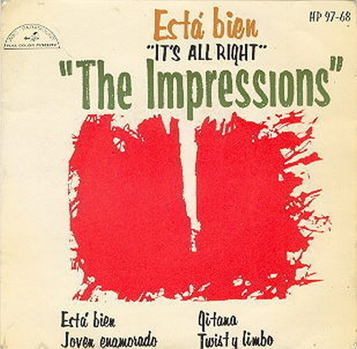 "1963 : EP "" Esta Bien [ It's All Right ] ABC Paramount Records HP 97 68 [ ES ]"
