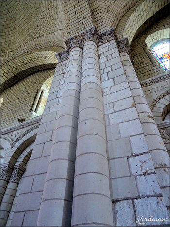 Photo de la Nef de l'Abbaye Notre-Dame de Fontevraud