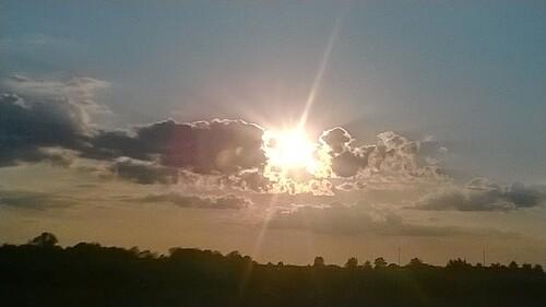 Coucher de soleil!
