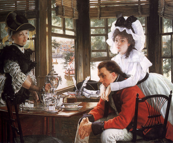 File:James Tissot - Bad News.jpg