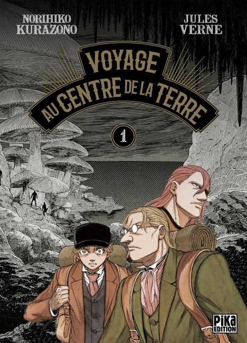 Voyage au centre de la Terre - Tome 01 - Jules Verne & Norihiko Kurazono