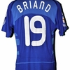 Jimmy BRIAND : Maillot FRANCE SERBIE 10.09.2008.