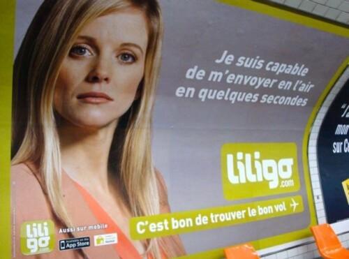 affiche Liligo humour 4961