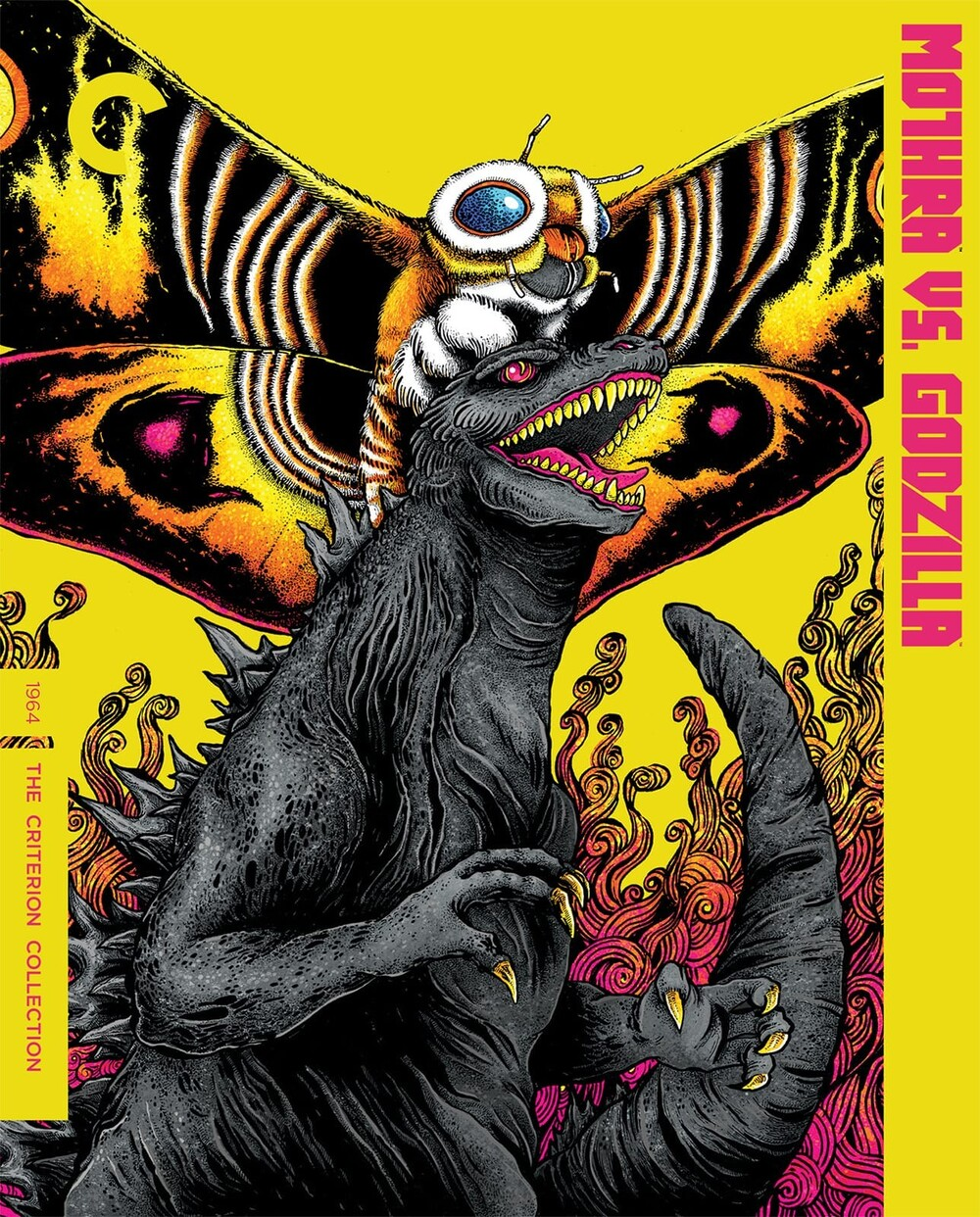 Mosura tai Gojira / Mothra vs. Godzilla (1964)