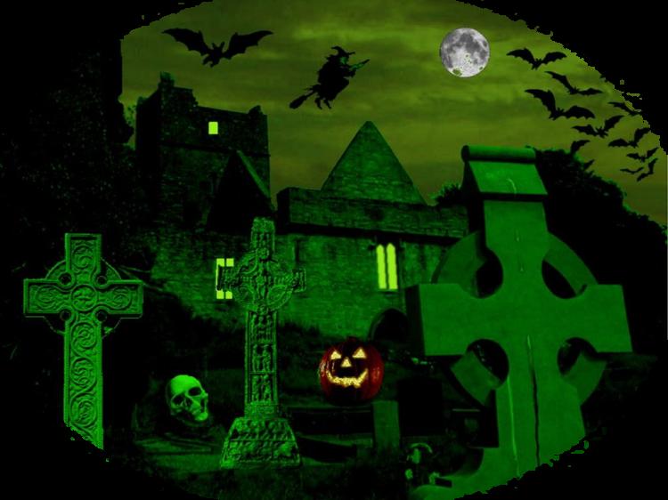 Mes Tubes Fonds Halloween Série 4
