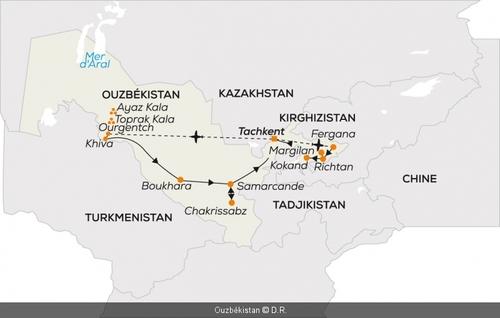 Voyage en Ouzkékitsan