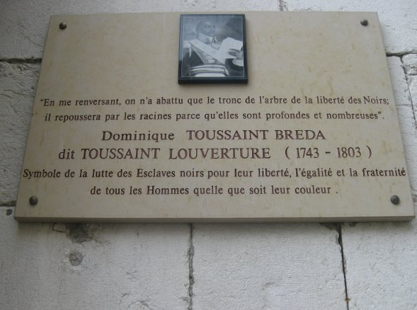 PLAQUE LOUVERTURE
