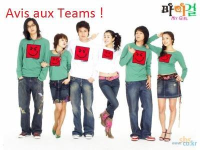 À l'attention des Teams de Fansub ou des Indépendants !