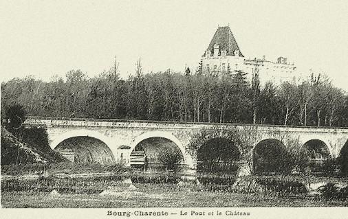 Blog de sylviebernard-art-bouteville : sylviebernard-art-bouteville, Château de Bourg-Charente 2011