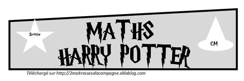 MATHS HARRY POTTER PERIODE 3