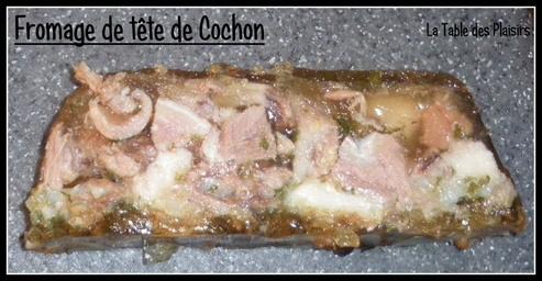 FROMAGE DE TÊTE DE COCHON