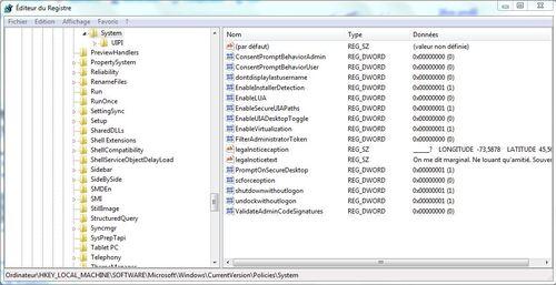 Changer l'image de l'écran de bienvenue de Windows 7