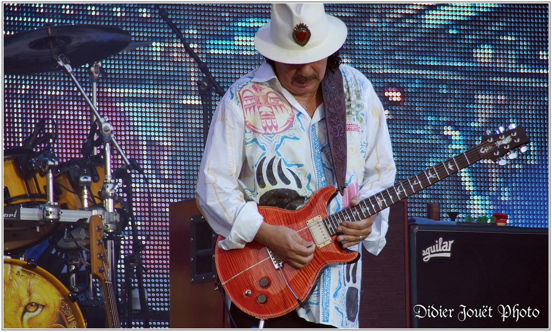 Santana / Vieilles Charrues 2013